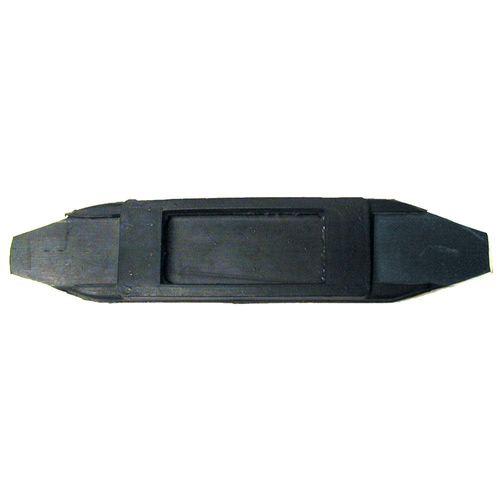 Equi-Essentials EcoPure Rubber Curb Chain Guard - Black