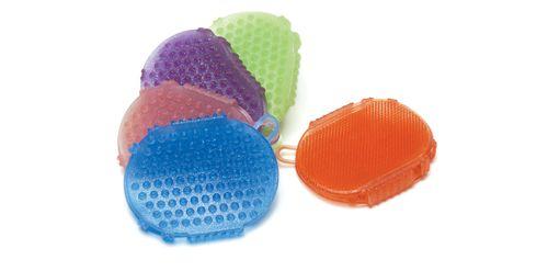 Equi-Essentials EcoPure Jelly Glitter Scrubber - Bubble Gum
