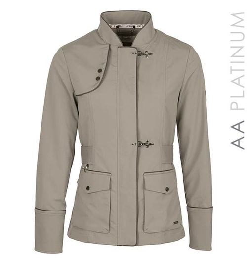 Alessandro Albanese Women's Imperia Waterproof Jacket - Taupe