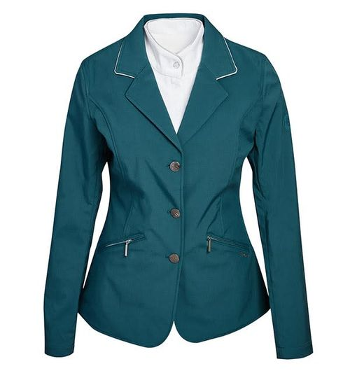 Horseware Women's Competition Jacket - Hydro Green