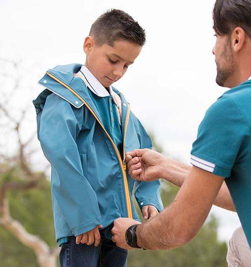 Horseware Kids' Rain Jacket - Moroccan Blue