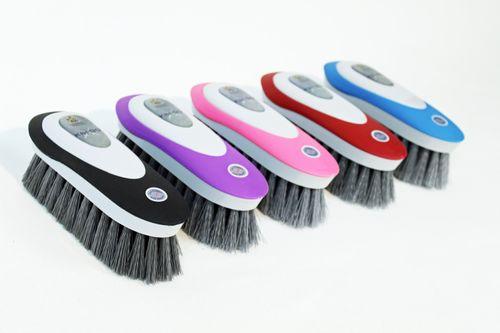 Vale KBF99 AntiMicrobial Dandy Brush - Purple