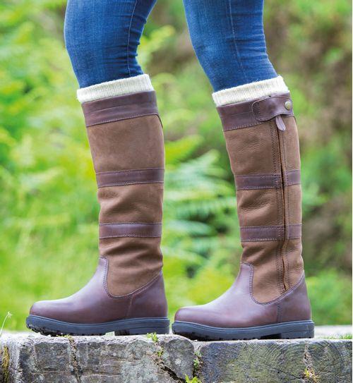 Shires Women's Moretta Nella Country Boots - Brown