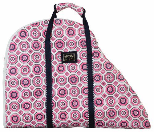 Equine Couture Kelsey Saddle Bag - Hot Pink