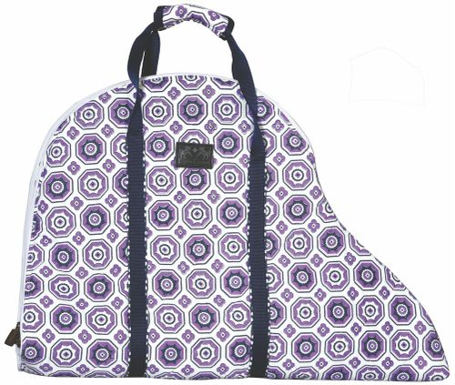 Equine Couture Kelsey Saddle Bag - Purple