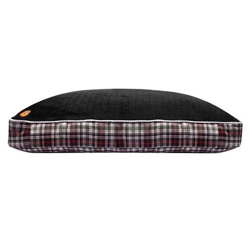 Halo Classic Plaid Rectangular Dog Bed - Duck Green Plaid