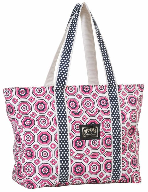 Equine Couture Kelsey Equestrian Tote Bag - Hot Pink