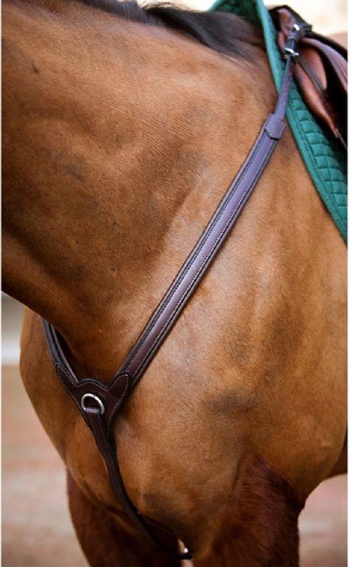 OPEN BOX: Upperville Breastplate - Horse - Havana/Zinc