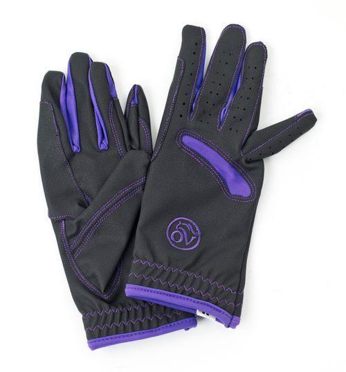 OPEN BOX: Tek Flex Pull On Glove - X Large - Black/Wisteria