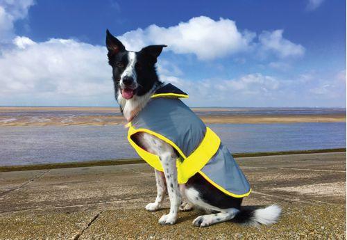 Equisafety Mercury Dog Coat - Yellow
