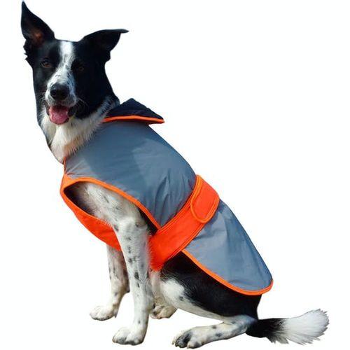 Equisafety Mercury Dog Coat - Red Orange