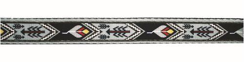 Western Rawhide Signature Pattern Halter - Black/Arrow