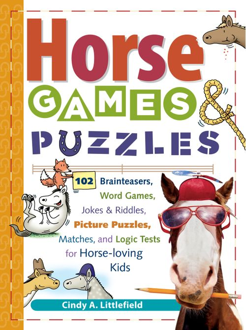 Horse Games & Puzzles for Kids' Book