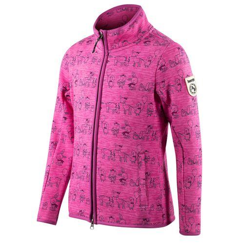 Horze Kids' Cheryl College Jacket - Bougainvillaea Pink