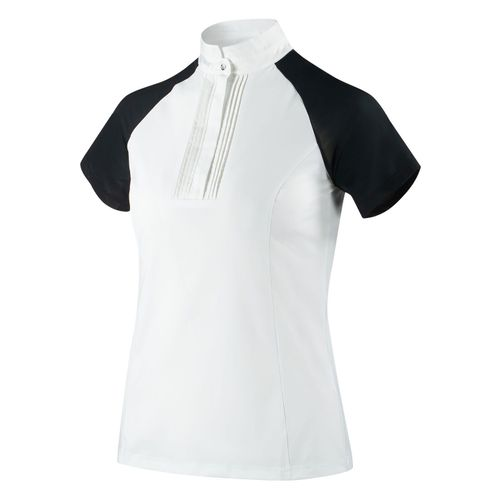 B Vertigo Women's Felicity Show Shirt - White