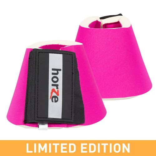 Horze Pro Bell Boots - Pink
