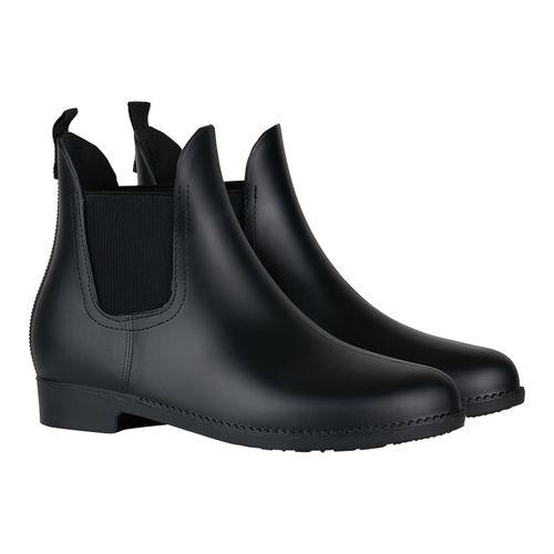 Horze Bonn Rubber Paddock Boots - Black