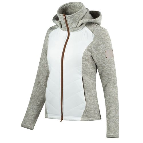 Horze Women's Ariana Hybrid Jacket - Tuffet Beige