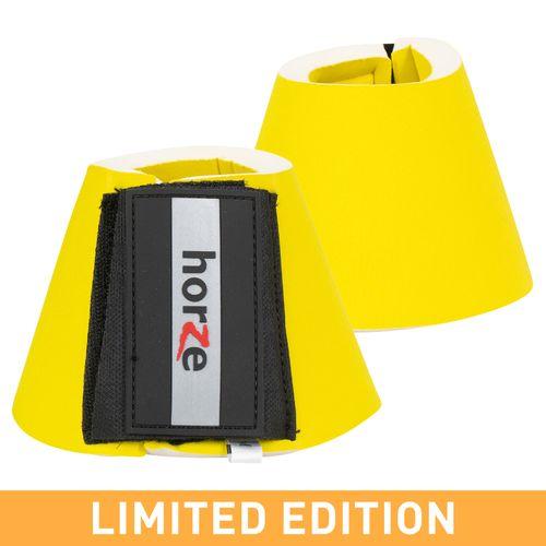 Horze Pro Bell Boots - Yellow