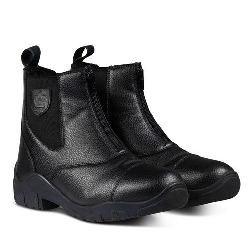 Horze Idaho Winter Jodhpur Boots - Black