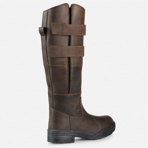 Horze Women's Rovigo Tall Country Boots - Brown