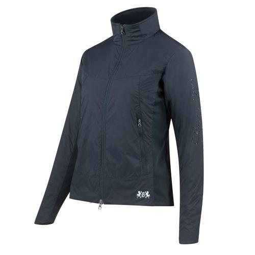 B Vertigo Women's Christine Padded Jacket - Navy Dark Blue