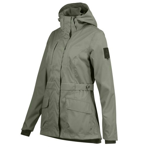 Horze Women's Jadine Technical Shell Jacket - Beetle Khaki Green