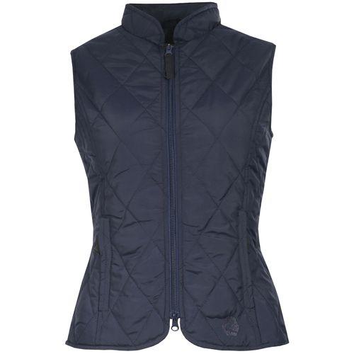 Horze Women's Classic Quilted Vest - Peacoat Dark Blue