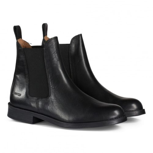 Horze Classic Leather Jodhpur Boots - Black