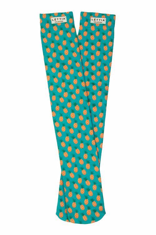 Lettia Women's Boot Socks - Pineapple