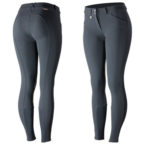 Horze Women's Grand Prix Knee Patch Breeches - Peacoat Dark Blue