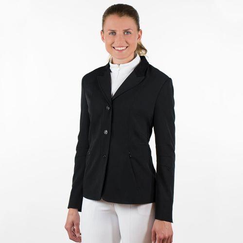 Horze Women's Yvonne Show Jacket - Black