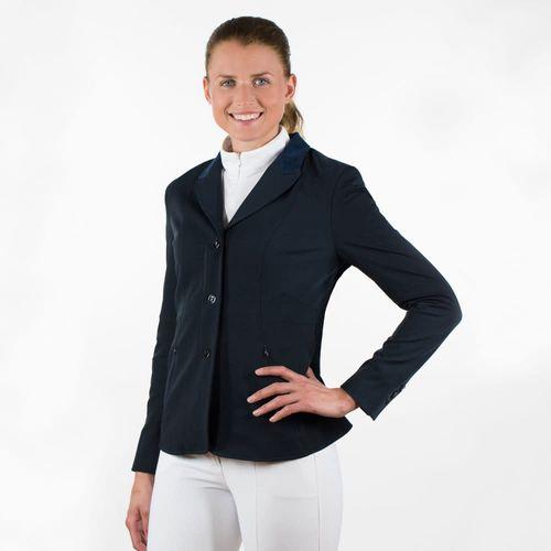Horze Women's Yvonne Show Jacket - Dark Navy