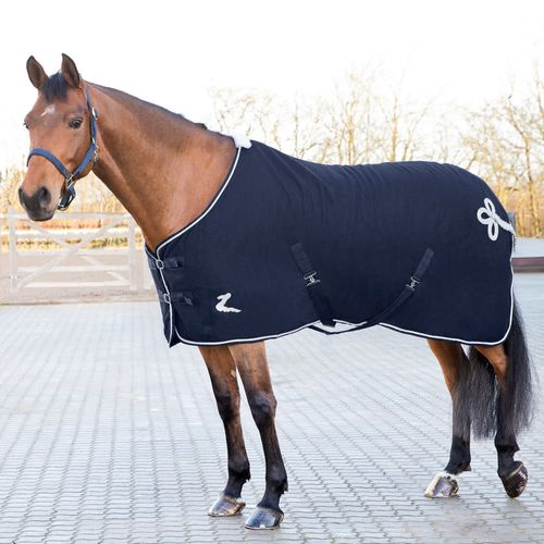 Horze Millau Wool Blanket - Dark Blue