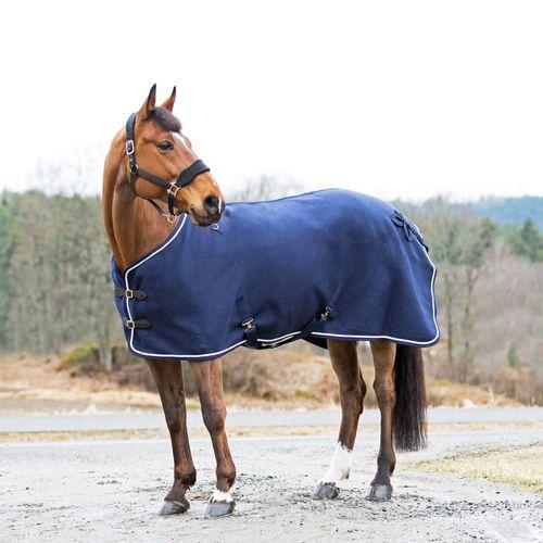 Horze Vail Wool Blanket - Peacoat Dark Blue