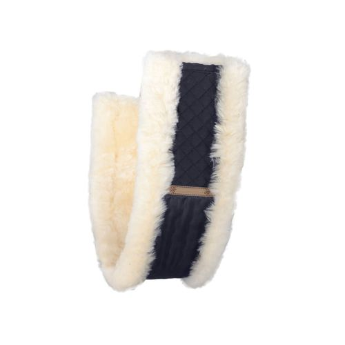 Horze Harleigh Sheepskin All Purpose Girth Cover - Black