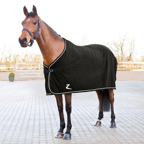 Horze Fleece Show Cooler - Black