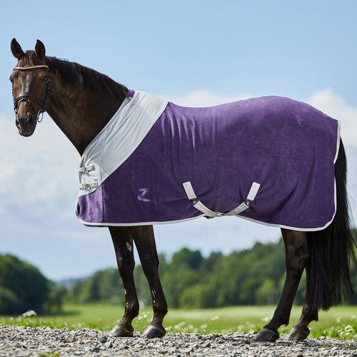 Horze Turin Fleece Blanket - Purple