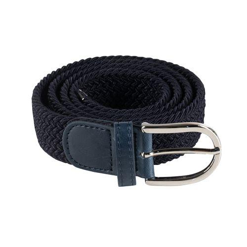 Horze Stretch Belt - Dark Navy