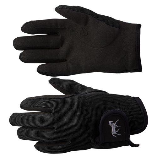Horze Kids' Stretch Gloves - Black