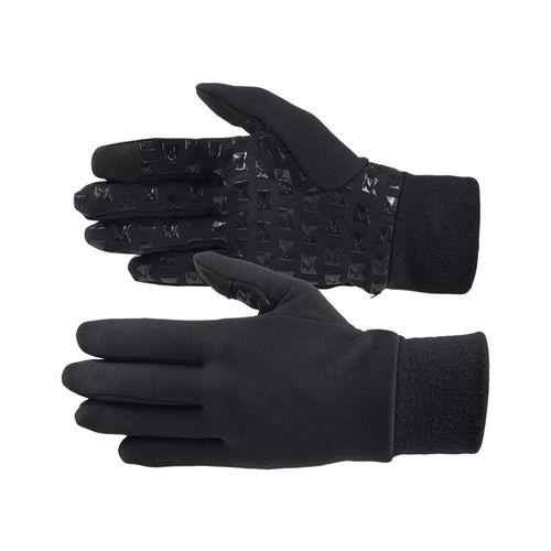Horze Avery Silicone Grip Fleece Gloves - Black