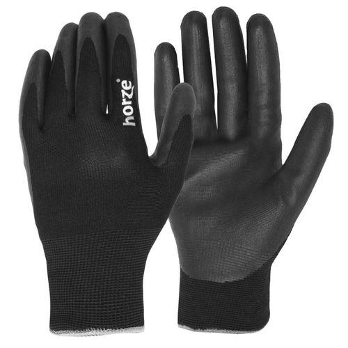 Horze Winter Work Gloves - Black