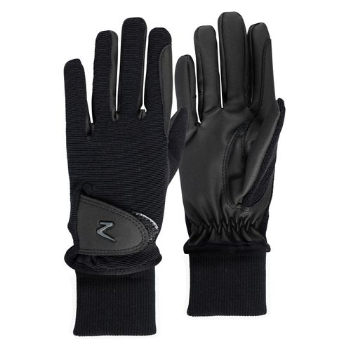 Horze Kids' Rimma Winter Riding Gloves - Black