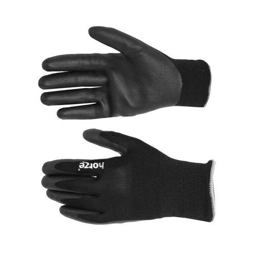 Horze Summer Work Gloves - Black