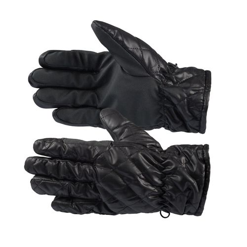 Horze Quilted Winter Riding Gloves - Black