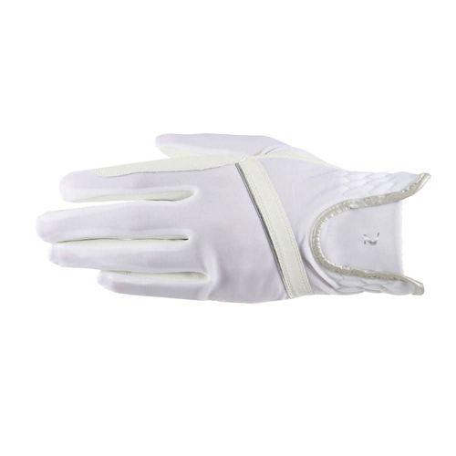 Horze Evelyn Breathable Gloves - White