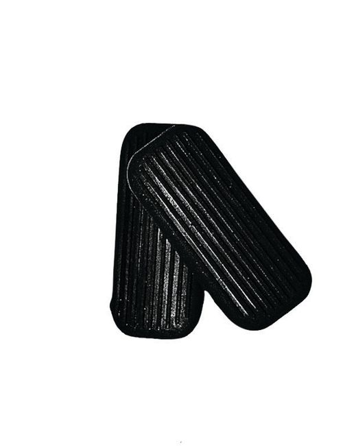 Korsteel Two Bar Stirrup Iron Treads - Black