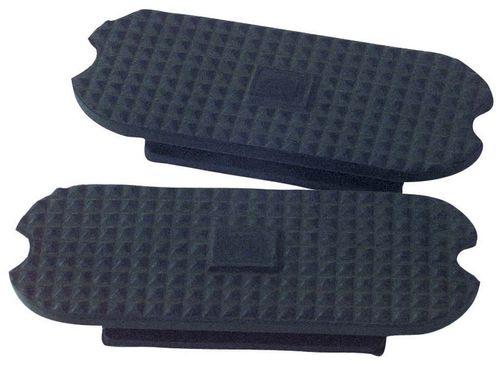 Korsteel Knife Edge Stirrup Treads - Black