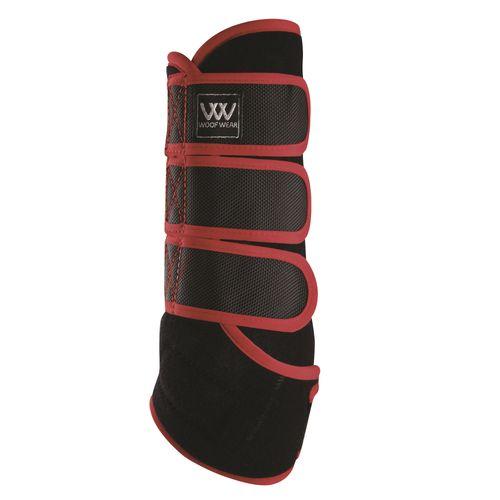 Woof Wear Training Wrap - Black/Shiraz