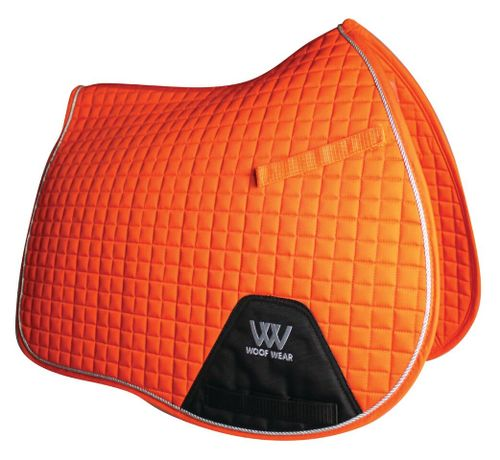 Woof Wear All Purpose Saddle Pad - Orange